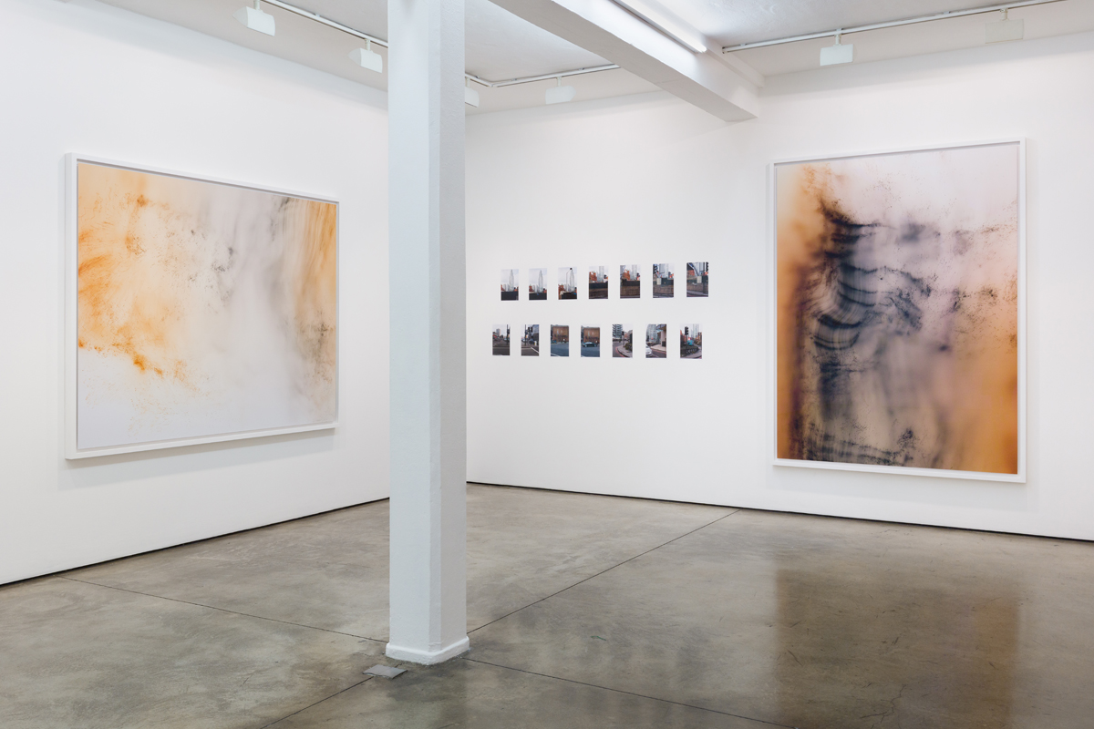 Both images from Wolfgang Tillmans, Maureen Paley, London, 5 June - 21 July 2019.