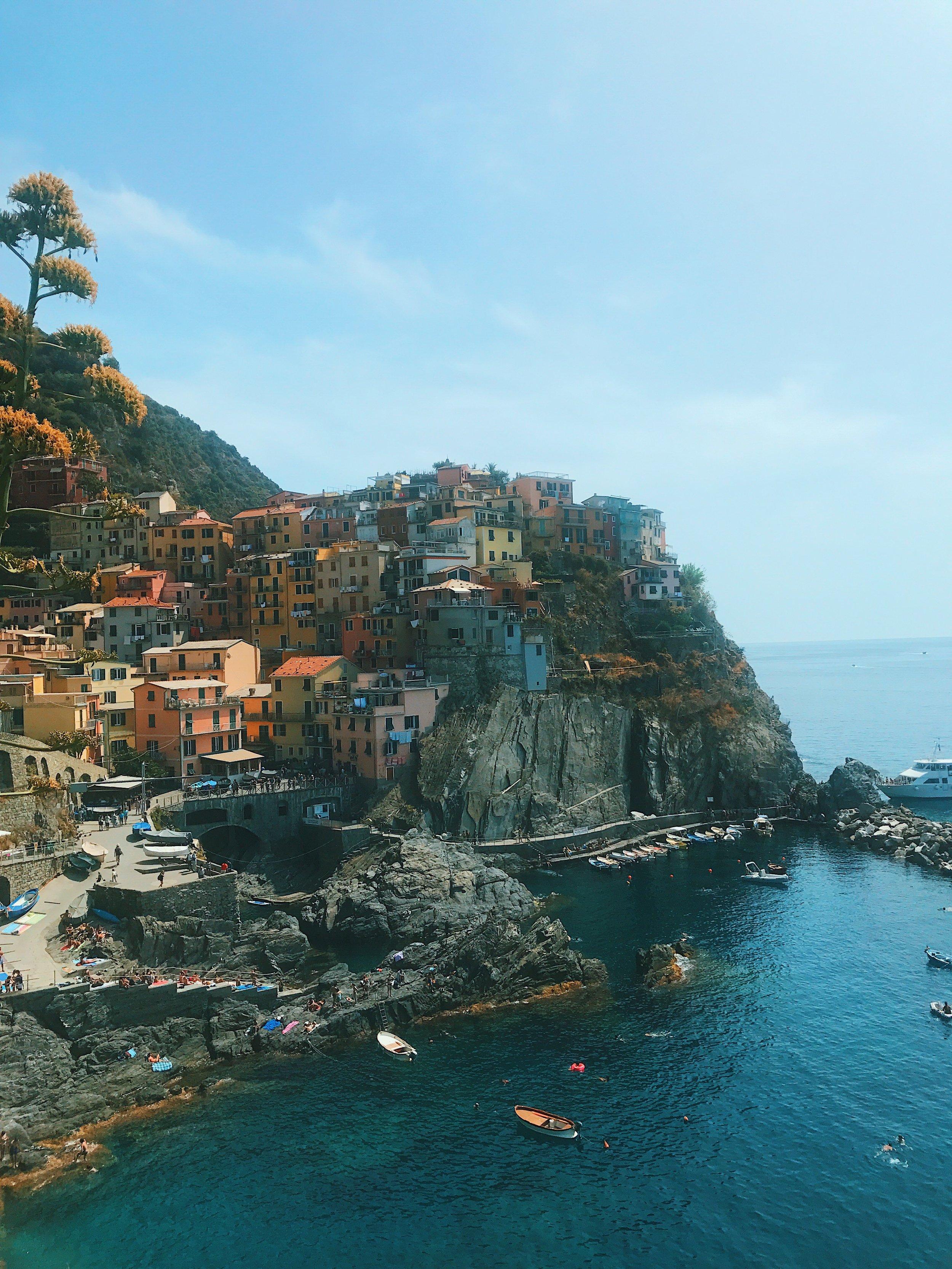 Cinque Terre - Manarola - Italy - Jessica Withey - Travel Blogger