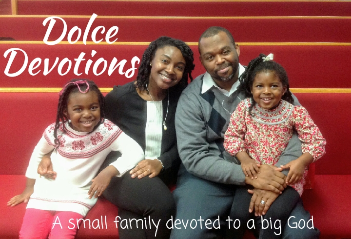 Dolce Devotions - Join Eric, Nana, Jael (7), and Noel (5), for daily family devotions. We share Bible stories, songs, and prayers for the persecuted-persevering church around the world. Find us wherever you get your podcasts or click to listen below.