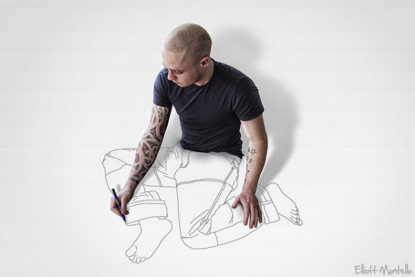 Elliott Montello- artwork: drawing sam. from  https://www.wodumedia.com/wp-content/uploads/Drawing-Sam.-He-has-some-artwork-done-on-his-body-and-a-body-done-on-his-artwork..jpg