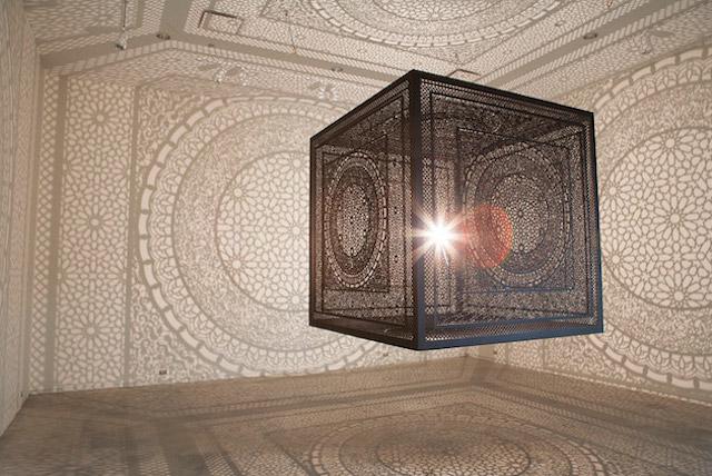 Pakistani artist  Anila Quayyum Agha