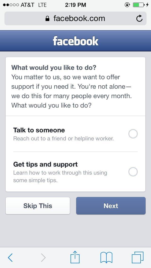 """#2.提供選擇給當事人,""""跟別人聊聊"""",或是獲得一些額外資訊。"""