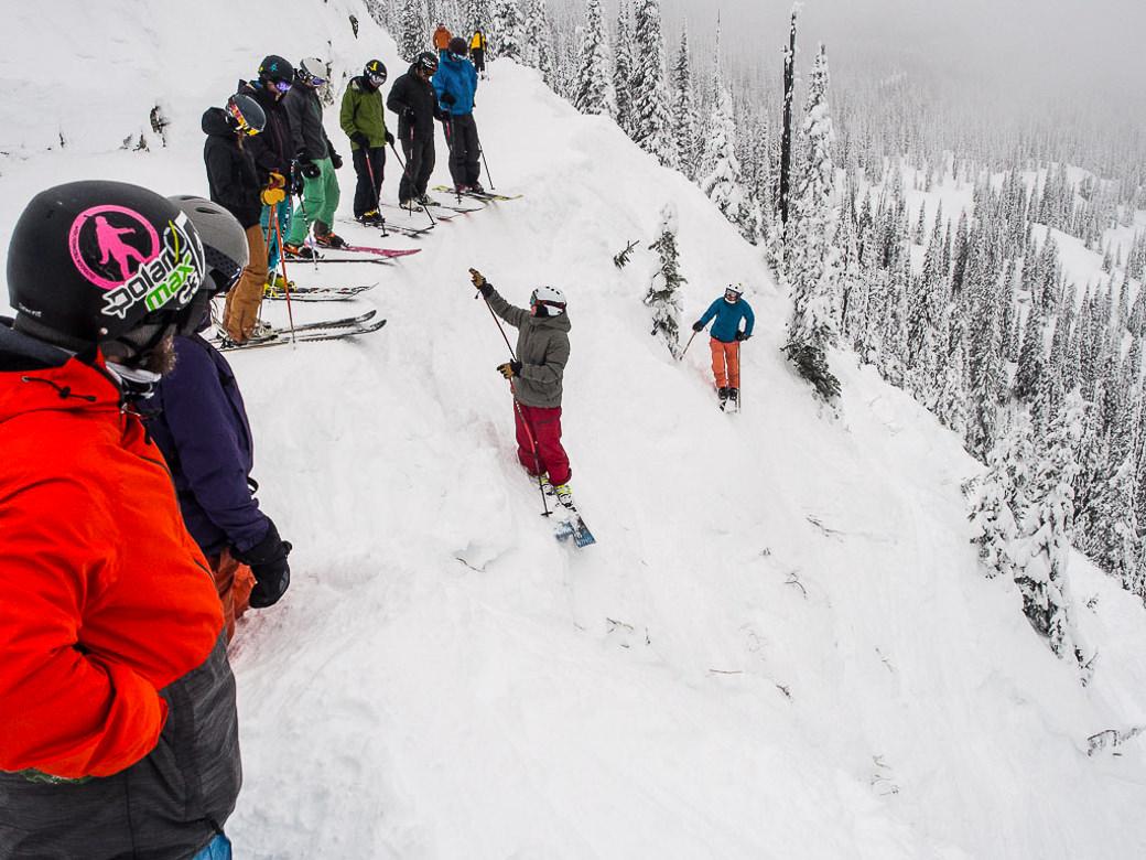 RIDGE ski and snowboard academy training for big mountain skiing