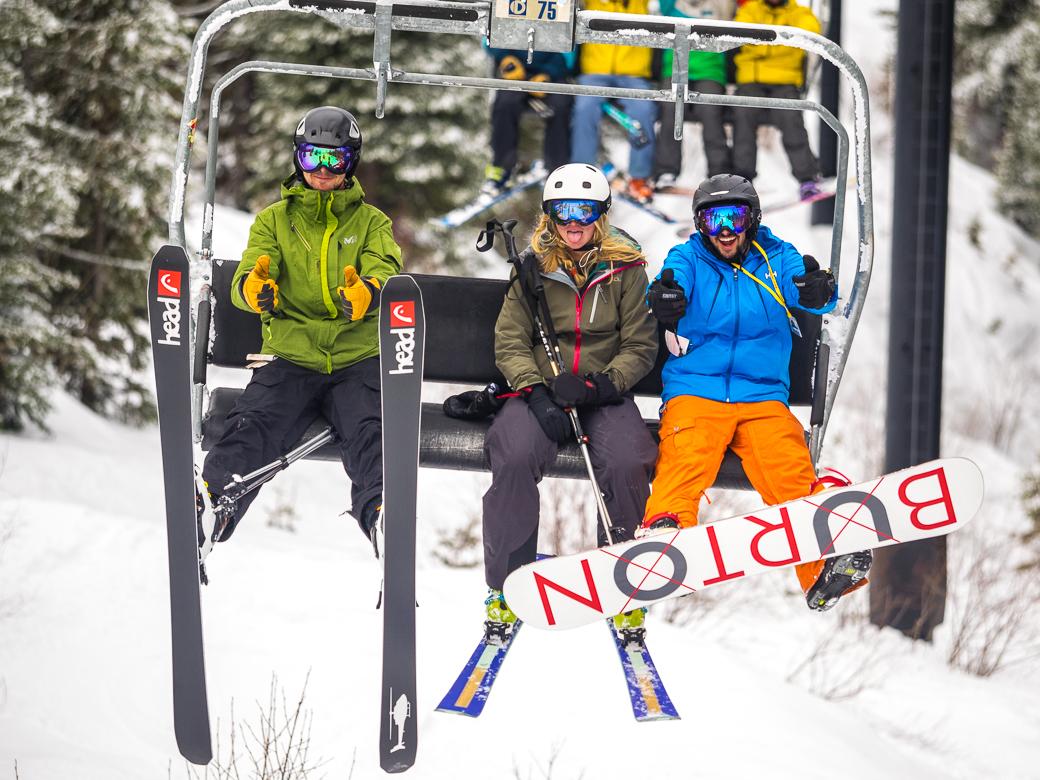 Skiing gap year ©GlacierWorld.com