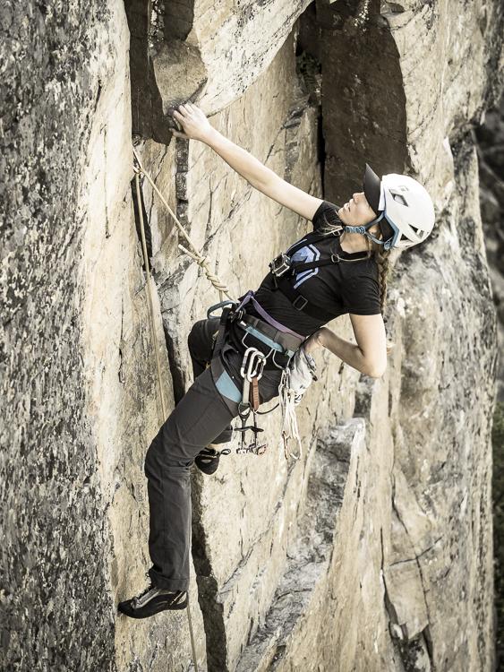 Rock climbing gap year
