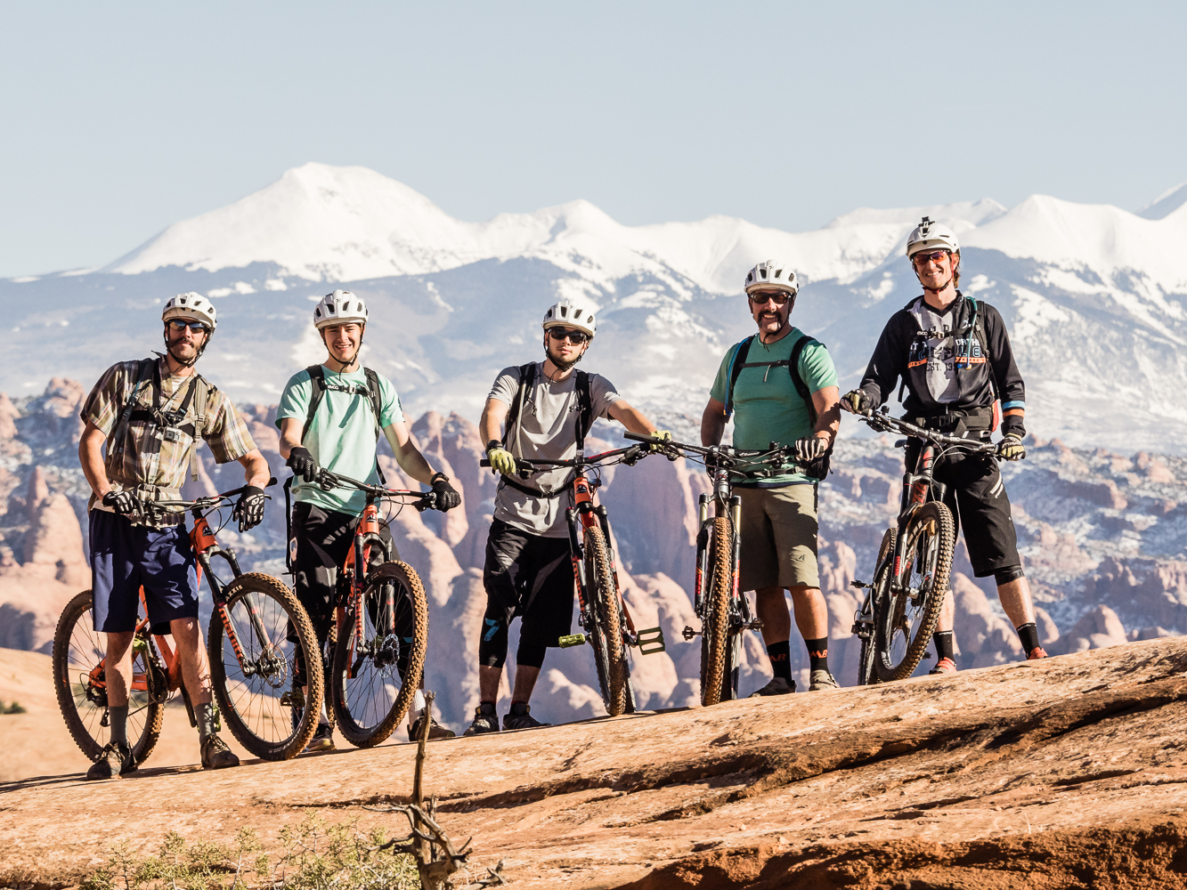 Gap year semester mountain biking