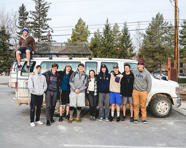 And so it begins! RIDGE crew headed out today for their CAPSTONE trip that they have been working towards all semester! Starting off with a backcountry ski trip to a yurt in Idaho, then off to Moab, Utah for rock climbing and mountain biking! Sorry for our posting schedule the next week or so as we won't have service during durations of the trip! 📸: @t_brower