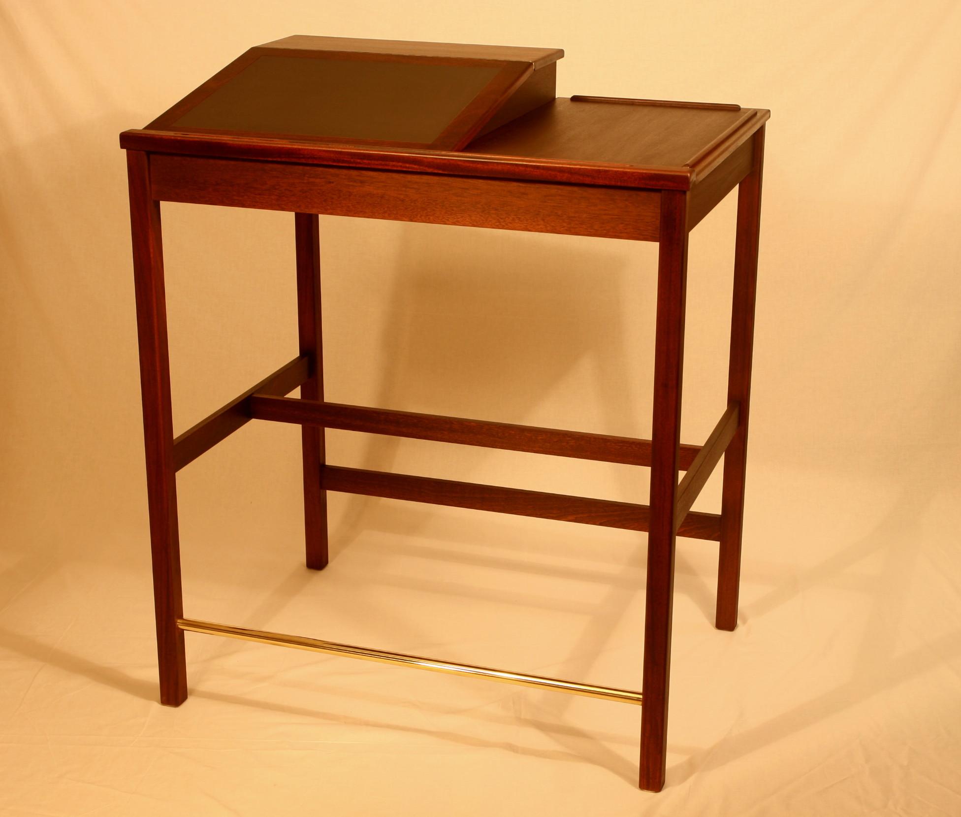 "48"" combination Desk .  Desk 4   Click picture to enlarge"
