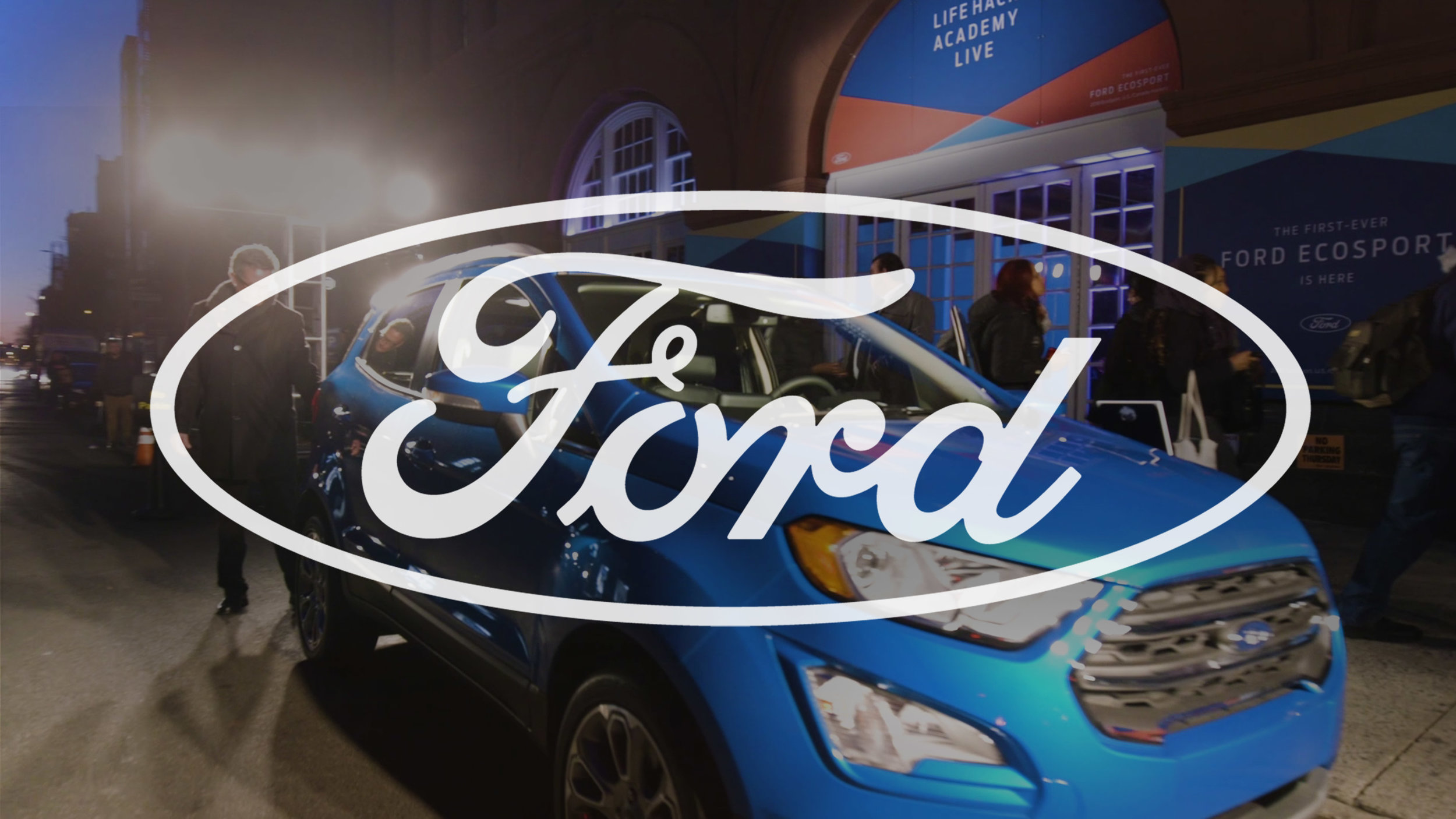 "Ford ""Life Hack Academy"" - Social Campaign"