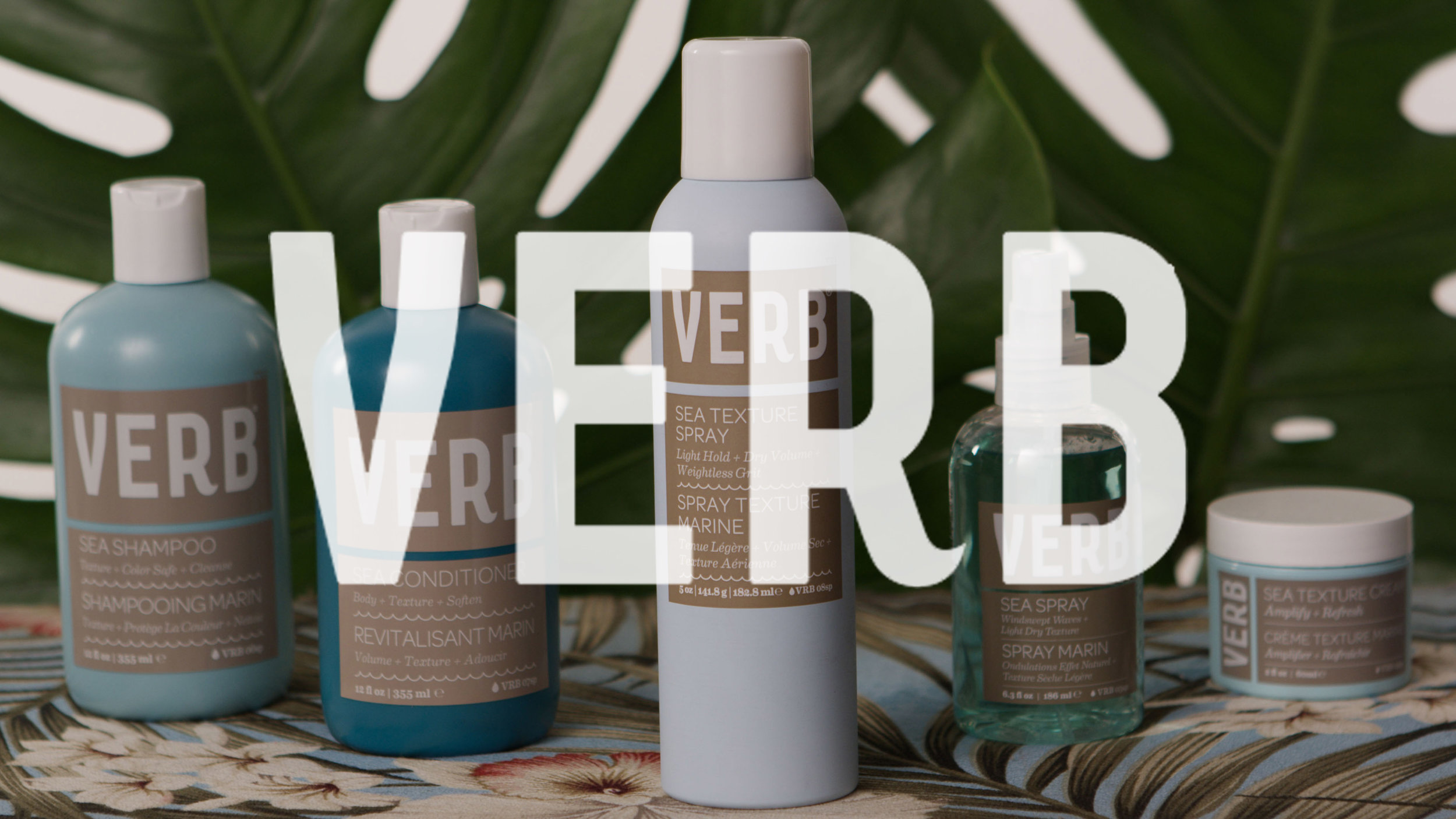 "Verb ""Sea Texture Spray"" - Social Campaign"