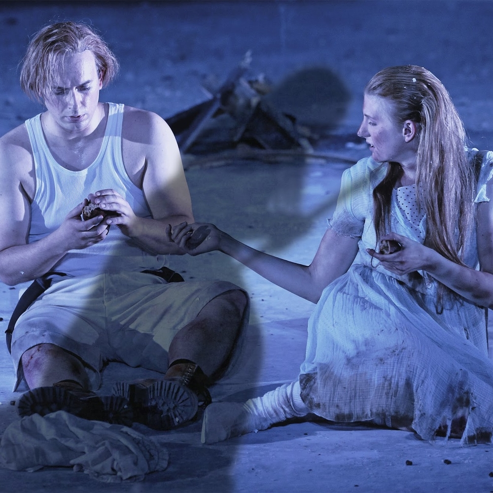 Goose-Girl in  Königskinder  Oper Frankfurt (Photo courtesy of Oper Frankfurt)