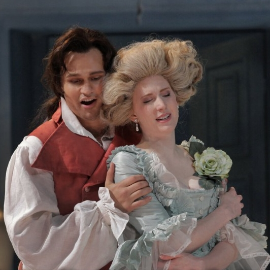 Countess Almaviva in   Le nozze di Figaro   Opera Theatre of Saint Louis   (Photo courtesy of Opera Theatre of Saint Louis)