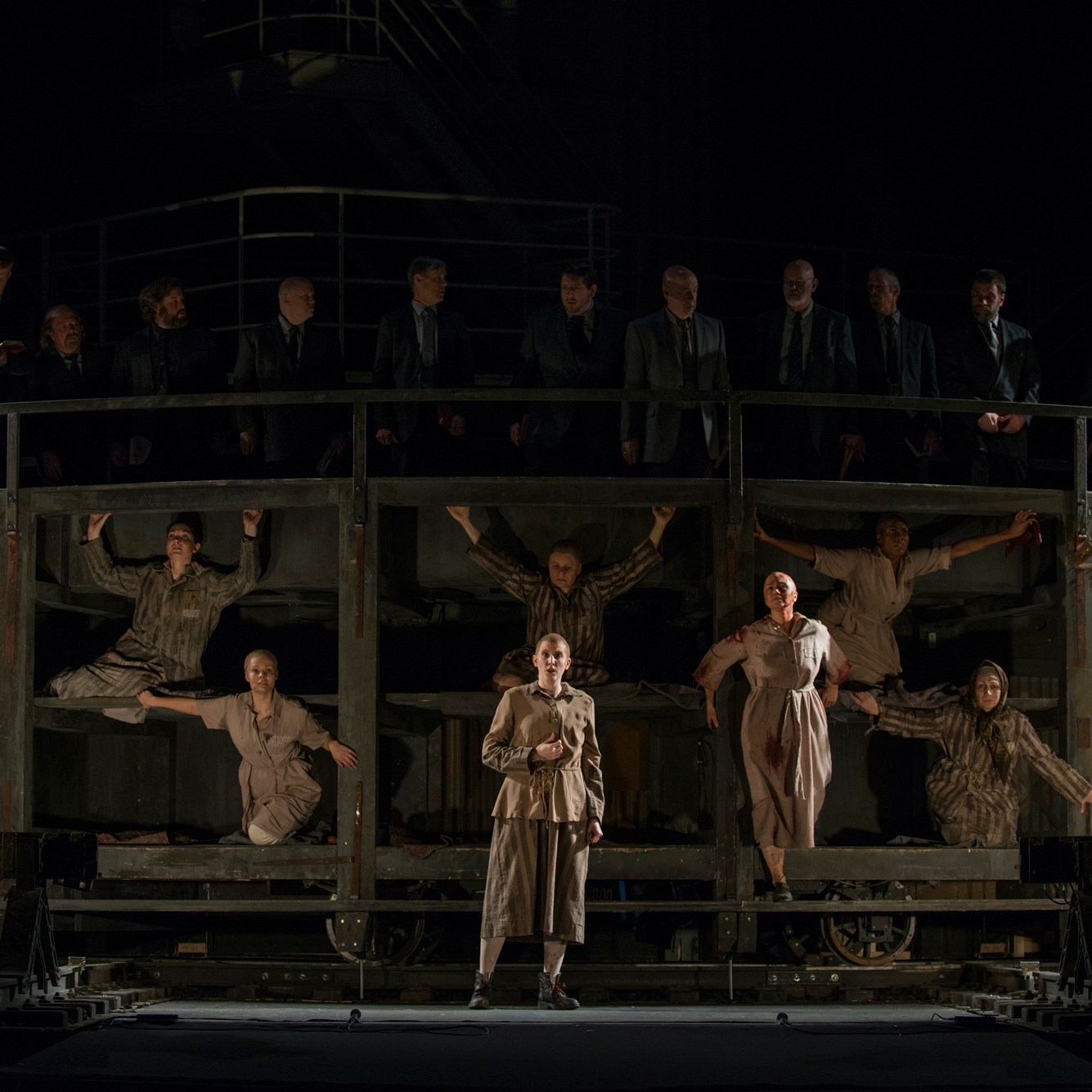 Marta in  The Passenger  Lyric Opera of Chicago (Photo credit: Michael Brosilow)