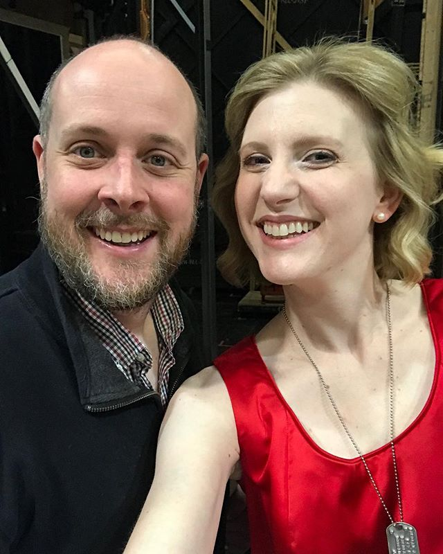 So glad to be here in Stuttgart with my friend, Alan Hamilton.  We've known each other since our Merolini (@merolaopera at SF opera) days and I couldn't be prouder of the amazing work he's doing here in Stuttgart as Studienlieter 💕 ———————————— #workingwithfriends #opera #operasinger #stuttgart