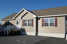 Optional Double Bump-out Available on Any Single Story Home (Shown on Ranch Home with 7/12 Roof)