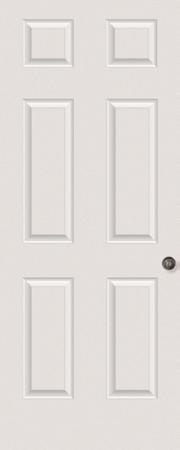 6-Panel Front Door
