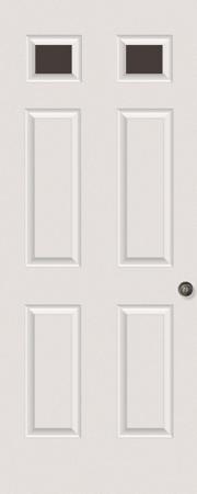 2-Lite Rear Door Glass: Clear