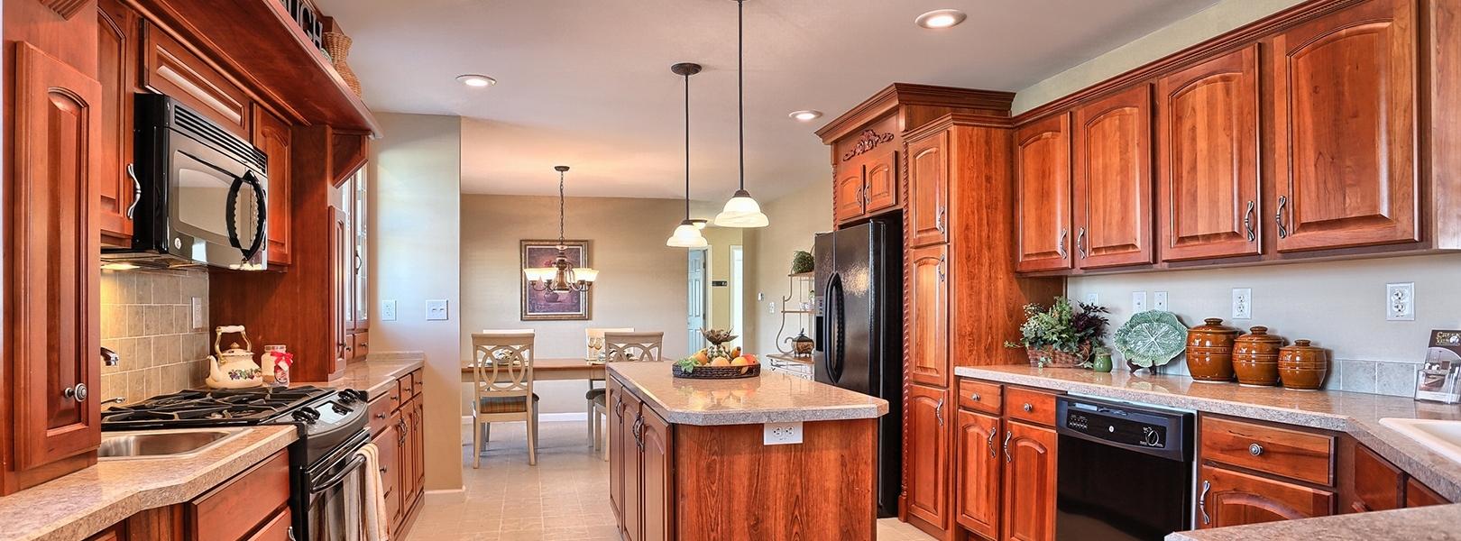 Hearth Wall Kitchen