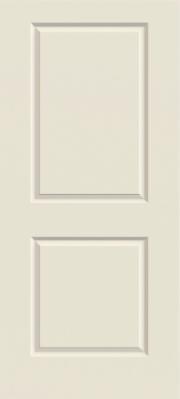 Jeld Wen Carrara 2-Panel Smooth Painted Interior Door