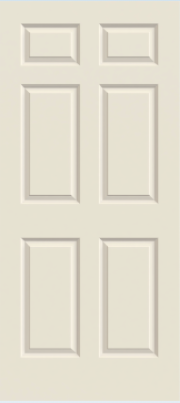 Jeld Wen Colonist Smooth Painted Interior Door