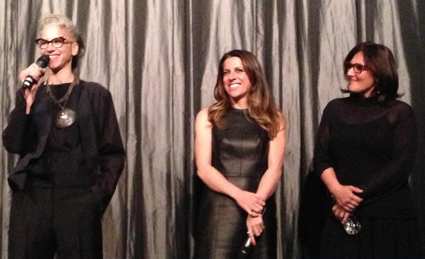From left to right: Dana Ben-Ari,Abby Epstein and  Ricki Lake