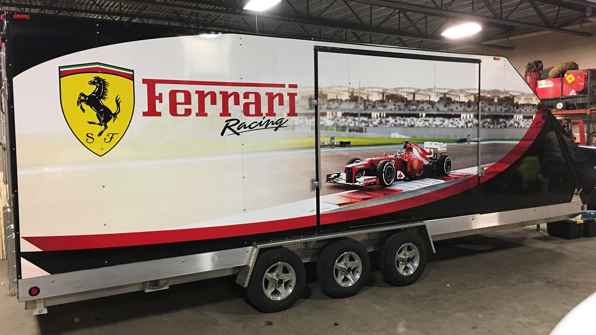 Ferrari Racing Trailer