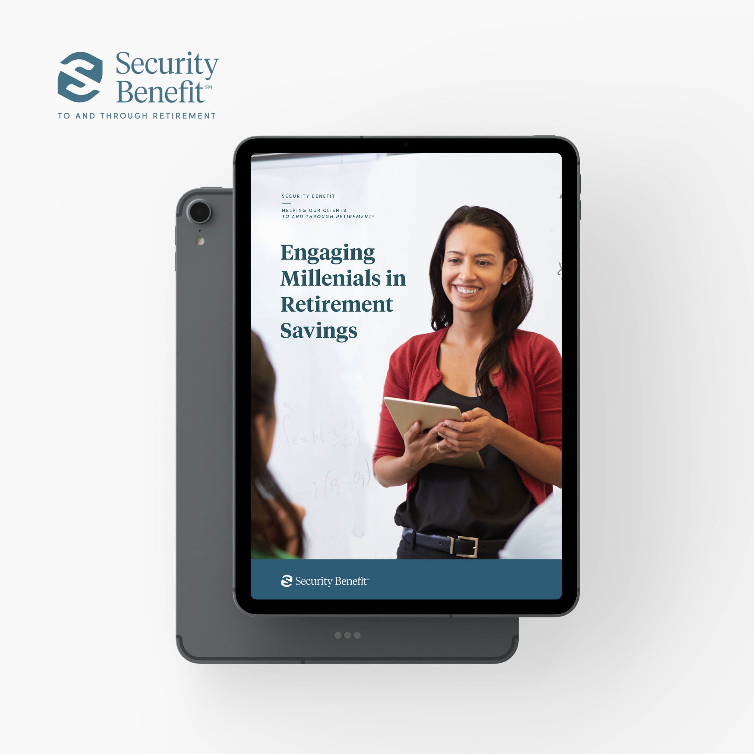 Security Benefit  - ebook design, brand development, video story board