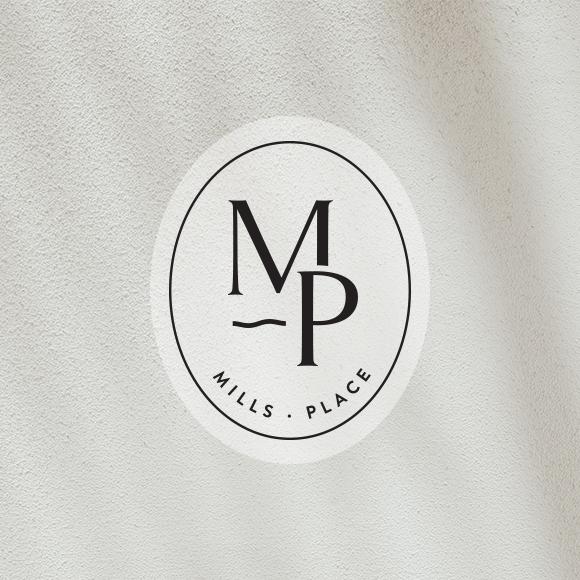Mills Place  - real estate branding