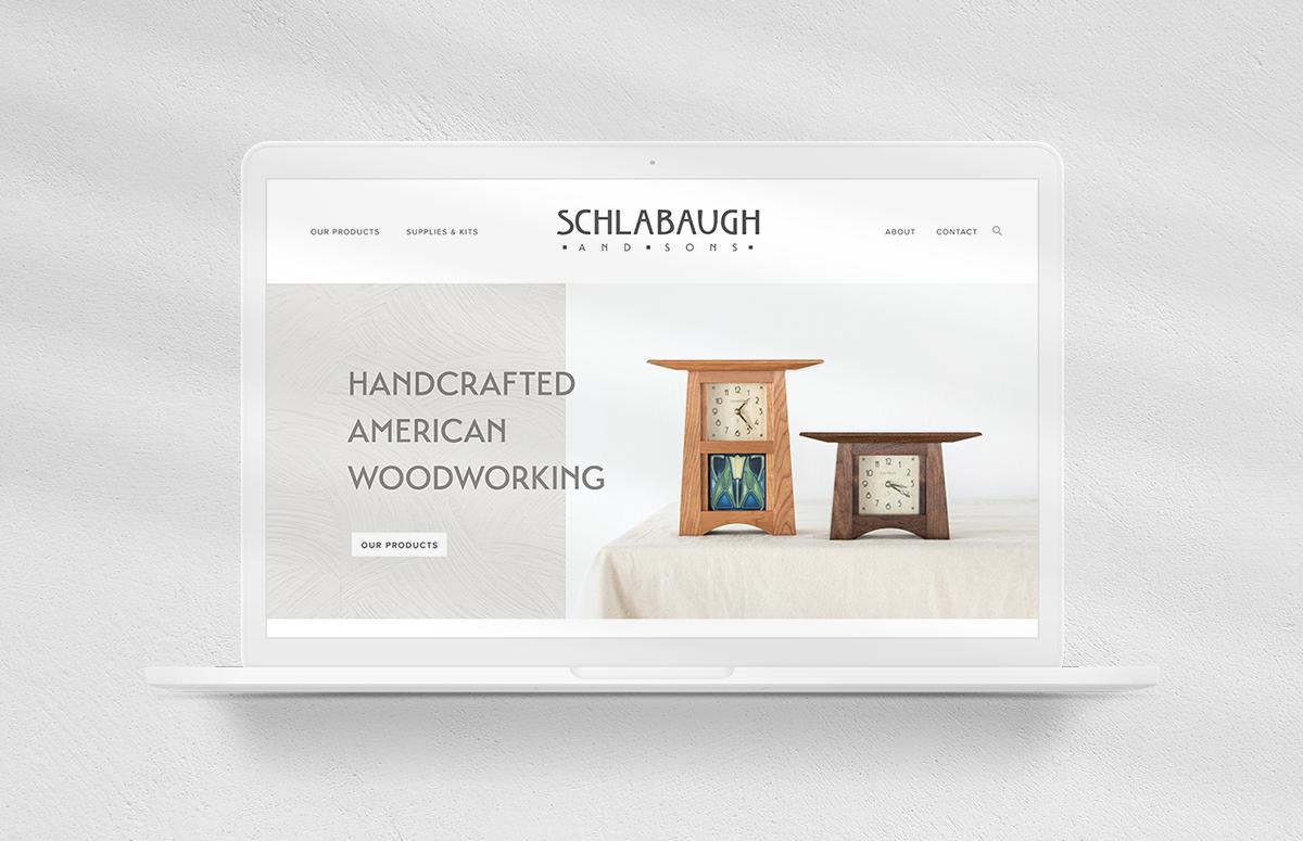 Schlabaugh & Sons  - branding, website, collateral, social, photography, creative director