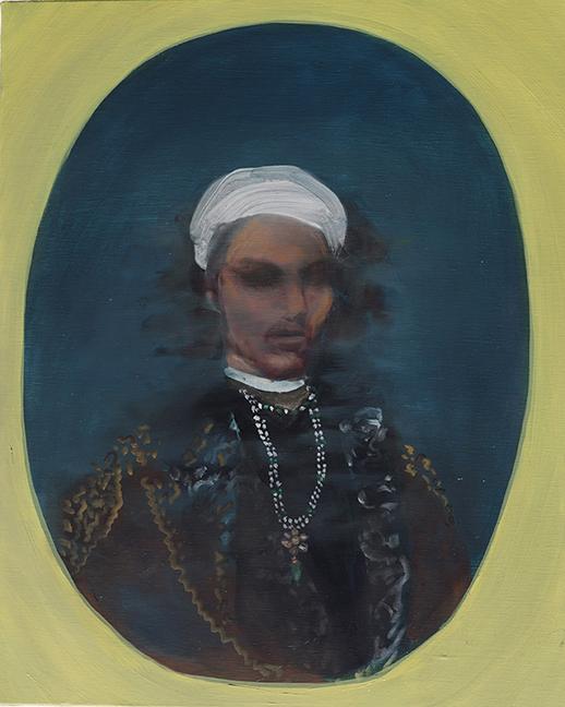Portrait of Arjun | 20 x 16 in, Oil on Linen