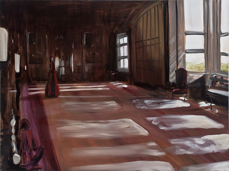 Parlour Room | 36 x 48 in. Oil on Linen