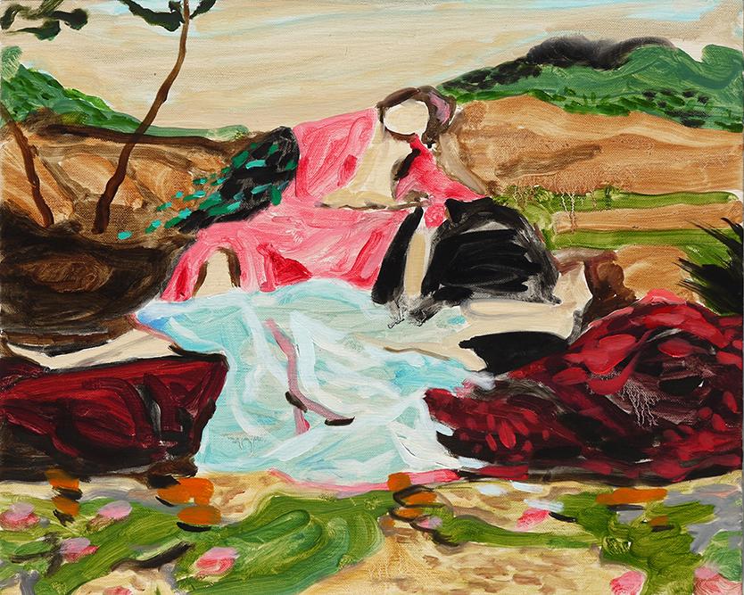 Maiden Landscape | 12 x 15 in. Oil on Linen