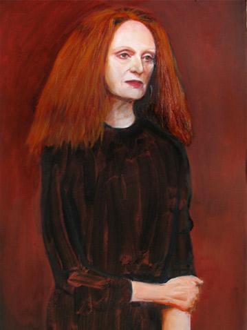 Grace Coddington | 2010, 16 in x 12in Oil on Linen
