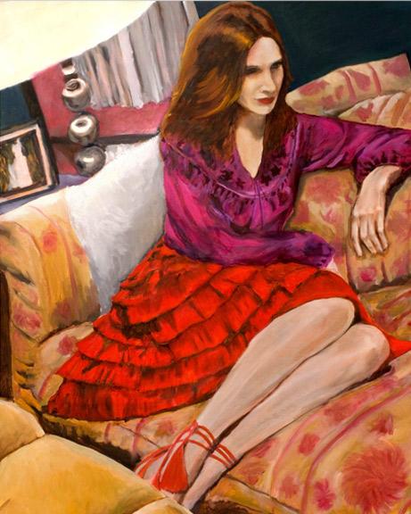 Elizabeth Stewart | 2010, 30 in x 24in Oil on Linen