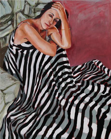 Andrea Lieberman | 2010, 30 in x 24 in Oil on Linen