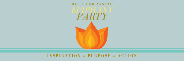 The logo we had specially designed for the party invitation. Designed by April Kling Meyer.