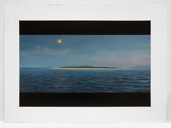 EXPANSE- MOONRISE WARNER ISLAND, 2015