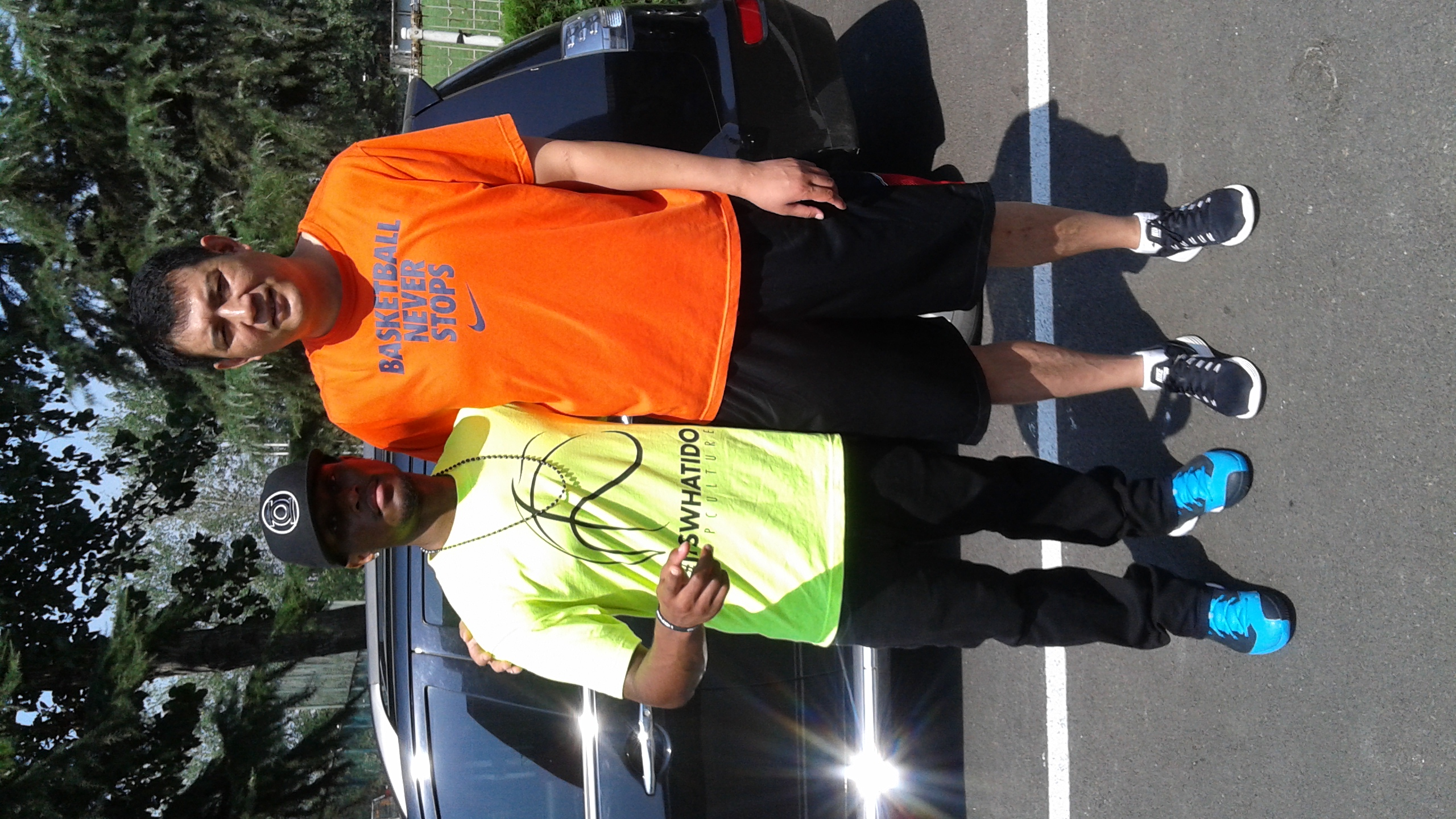 Ocean 24 SE's American Coach with the Chinese Basketball Legend: Mr. Gong Xiaobin