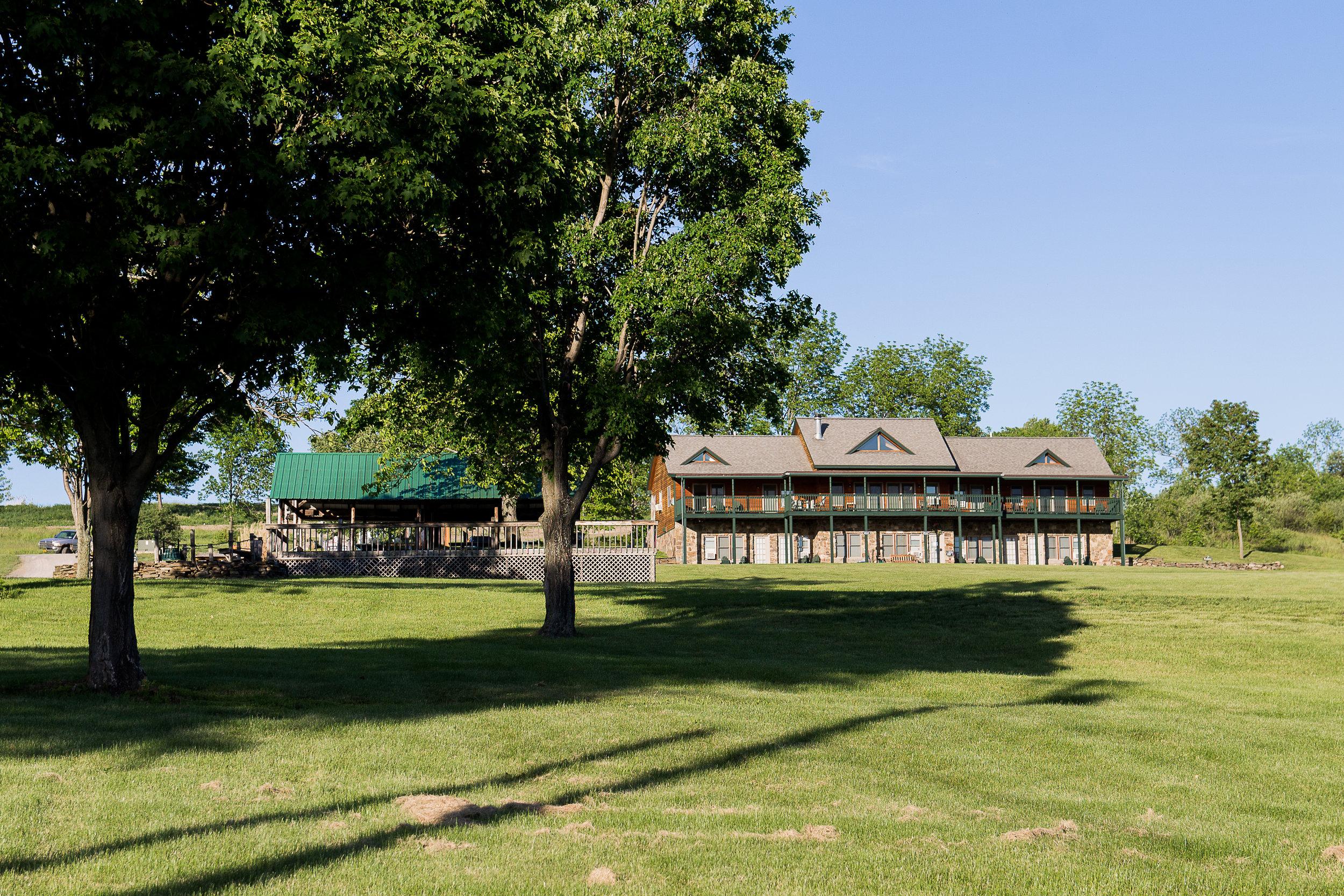 Pavilion & The Lodge