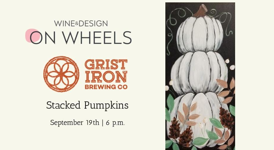 Pint & Paint Night - Stacked Pumpkins
