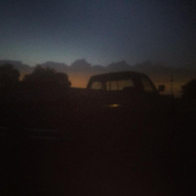 #merica, sun setting on el trucko!