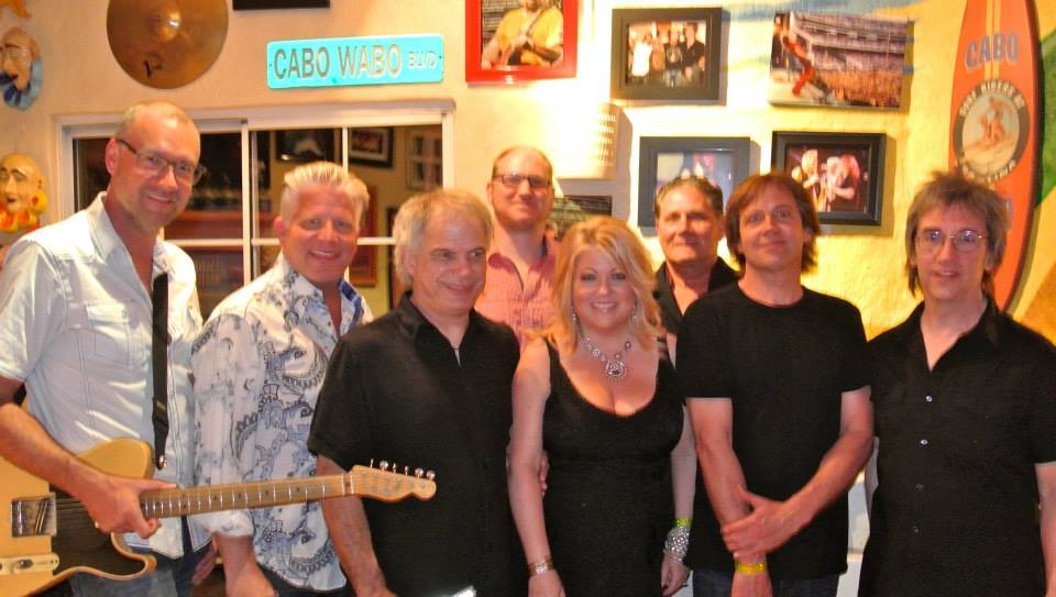 "Fabulous Armadillos - Backstage after Rockin' Sammy Hagar's famed nightclub -""Cabo Wabo"" - in Cabo San Lucas. February 2014"