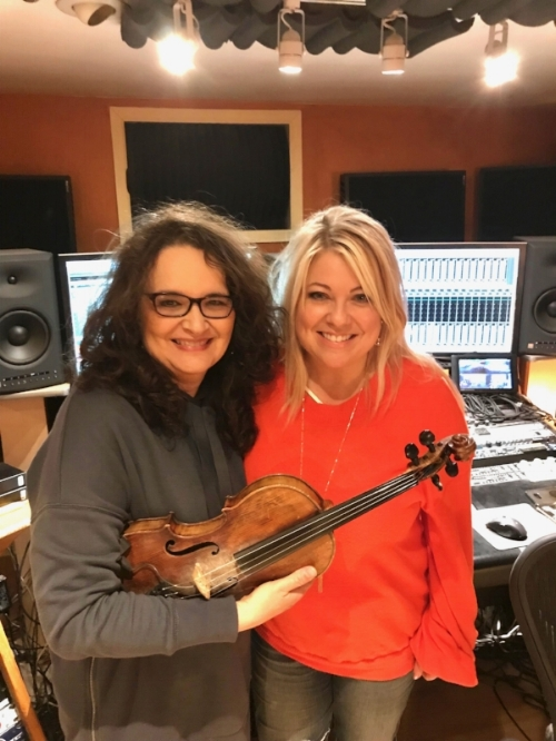 With the Phenomenal Wanda Vick - (Fiddle, Mandolin, Dobro and Banjo).