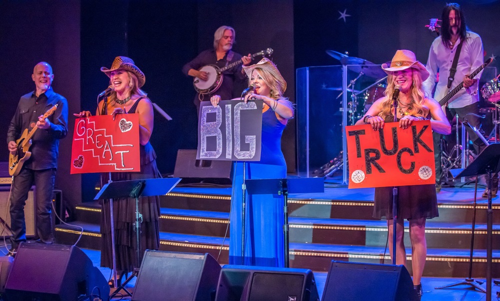 From L to R: Jay Graf, Aimee Lee, Boyd Lee, Pamela McNeill, Mary Jane Alm, Dugan McNeill Photo by Donald Jay Olson.