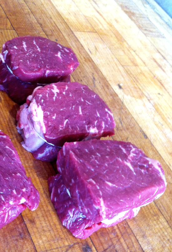 Filet Style Strip Loin Steaks - AKA Manhattan Style