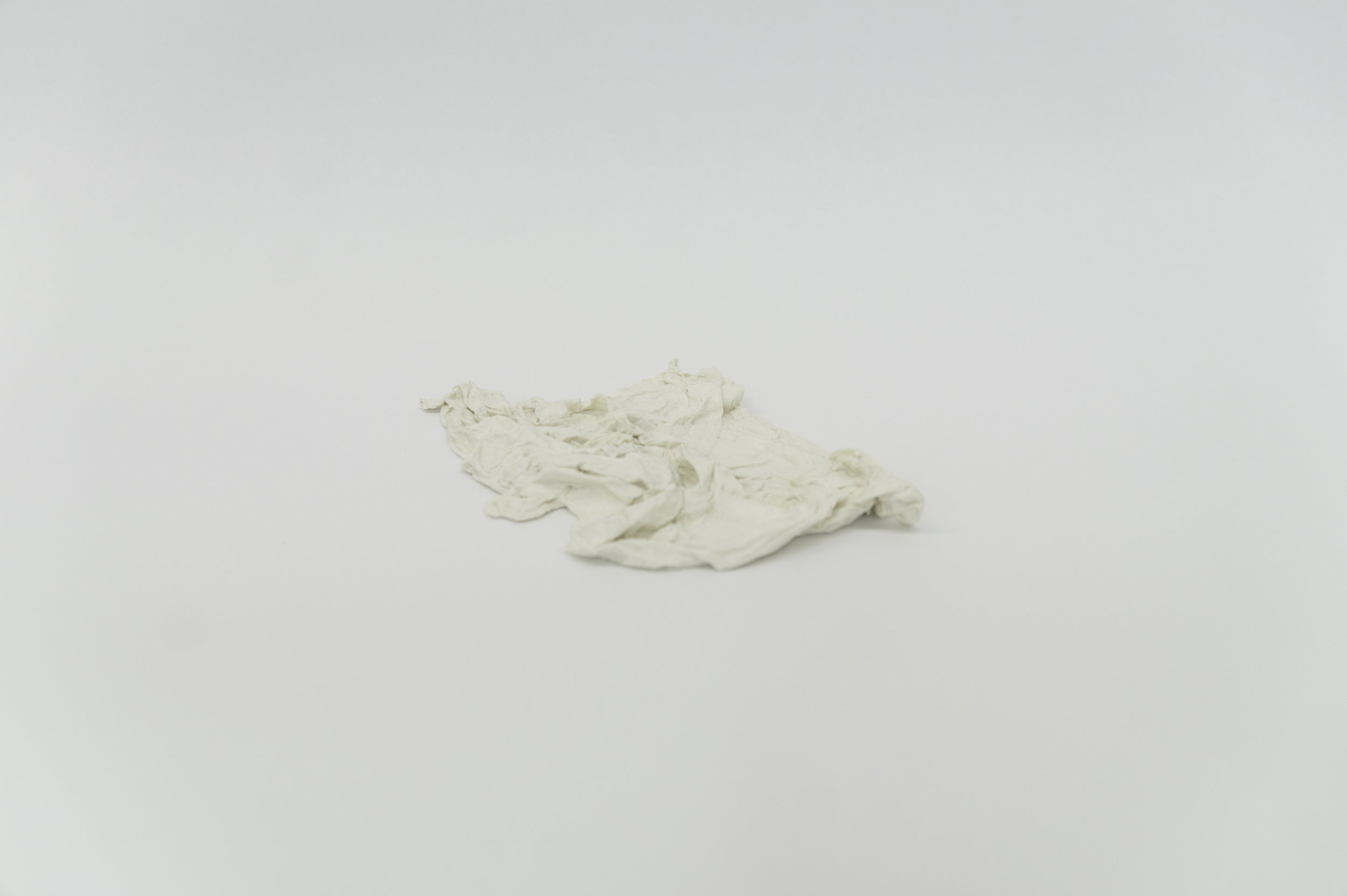 Untitled 1 (Porcelain Paper Towel)