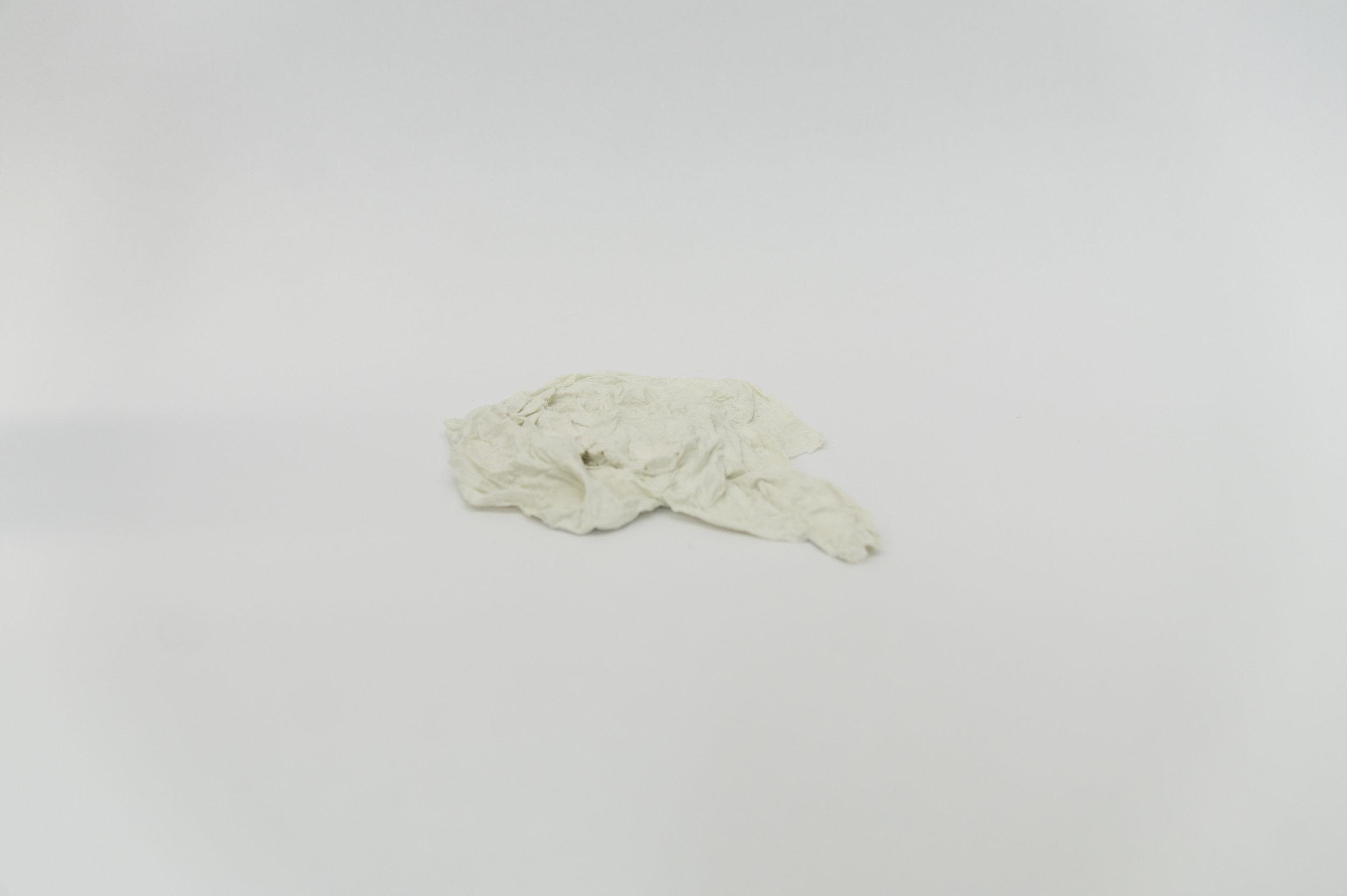Untitled 7 (Porcelain Paper Towel)