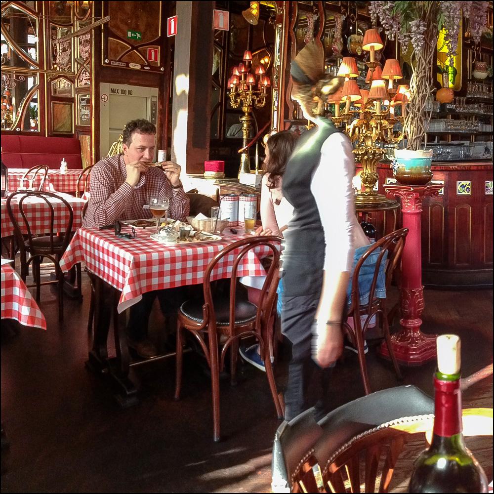 Ghost Waitress