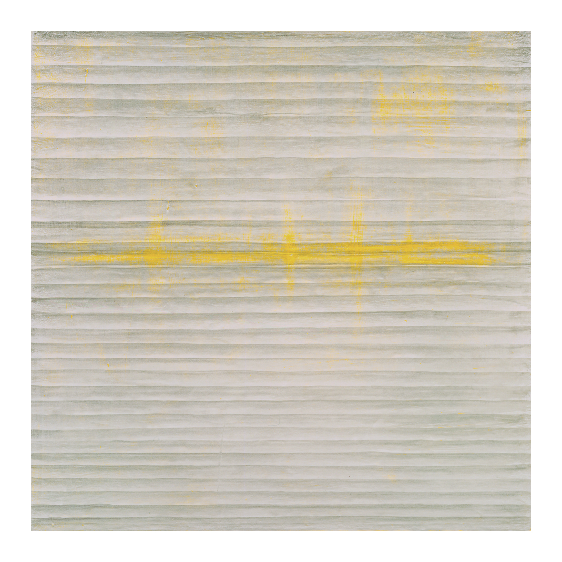 SUSAN SCHWALB  Desert Nocturne  2006 silverpoint and acrylic on wood panel, 24 x 24 inches