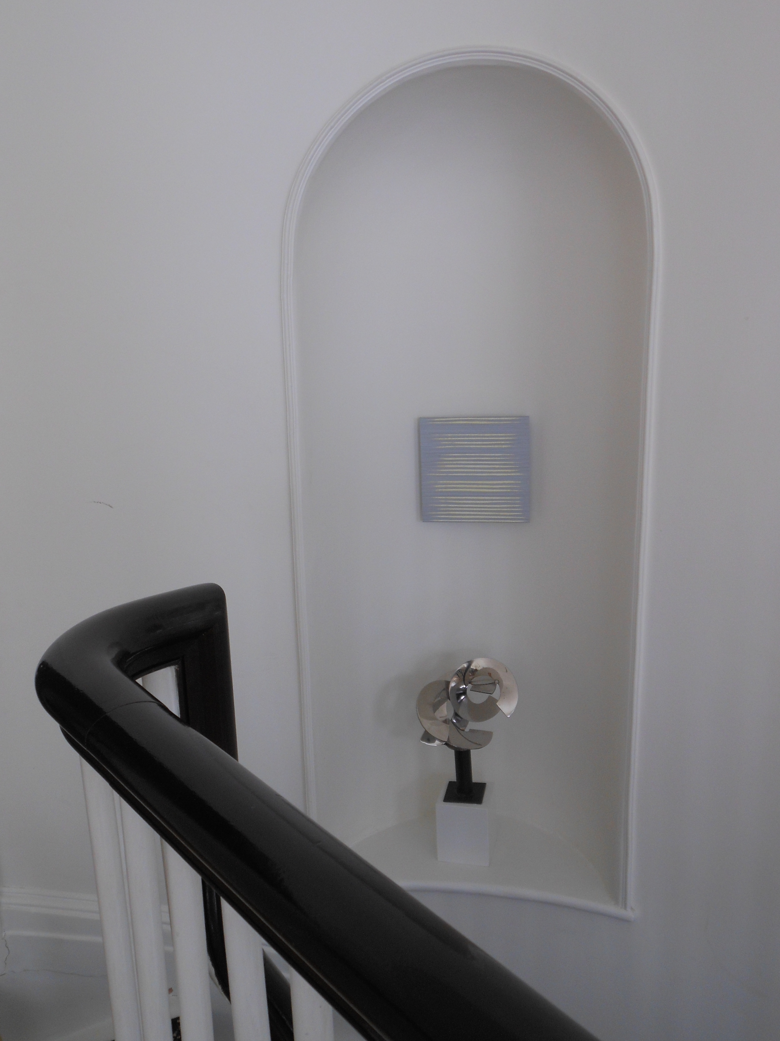 Stairway, Beacon Hill residence